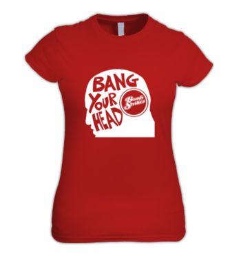 Bang Your Head Multi Colour Womens T-Shirts & Merchandise | DizzyJam