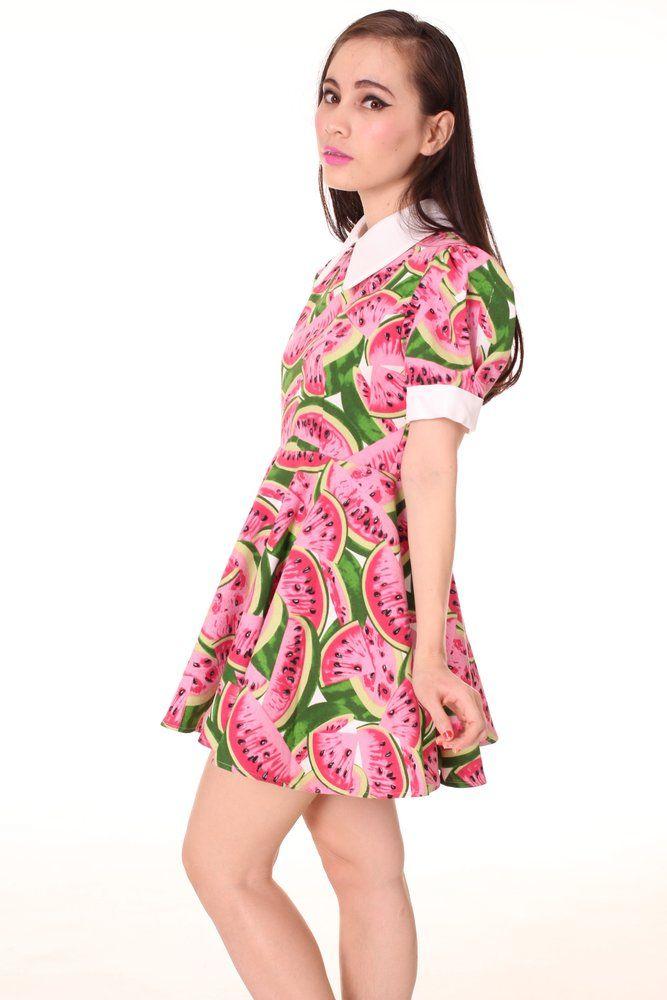 123d376244a Alice Dress In Watermelon Print in 2019