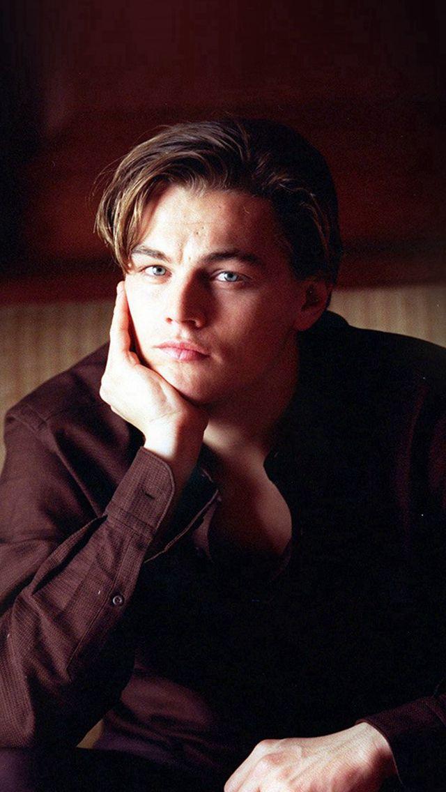 Leonardo Dicarprio Young Actor Celebrity #iPhone #5s #wallpaper