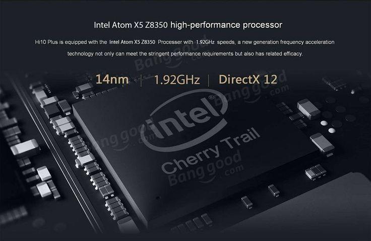 Chuwi Hi10 Plus 64GB Intel Cherry Trail X5 Z8350 Quad Core 10.8 Inch Dual OS Tablet With Keyboard