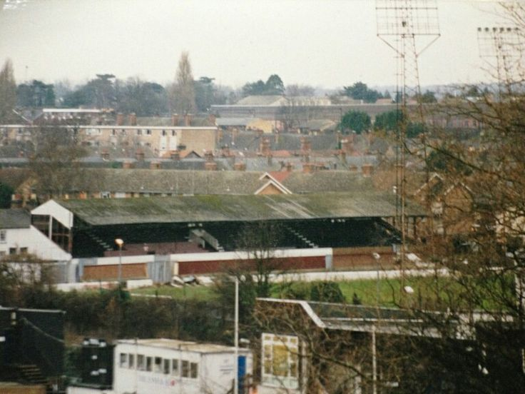 New Writtle Street, Chelmsford City in the 1980s.