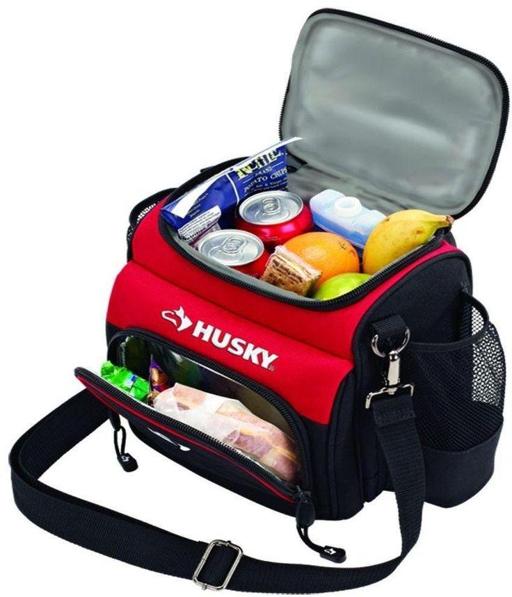 Lunch Cooler 9 in. High Density Thermal Insulation BPA Lead Free Bag w/ Strap #lunchcooler #lunchbag #bag