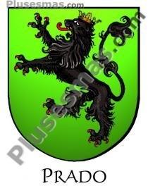El escudo del apellido Prado