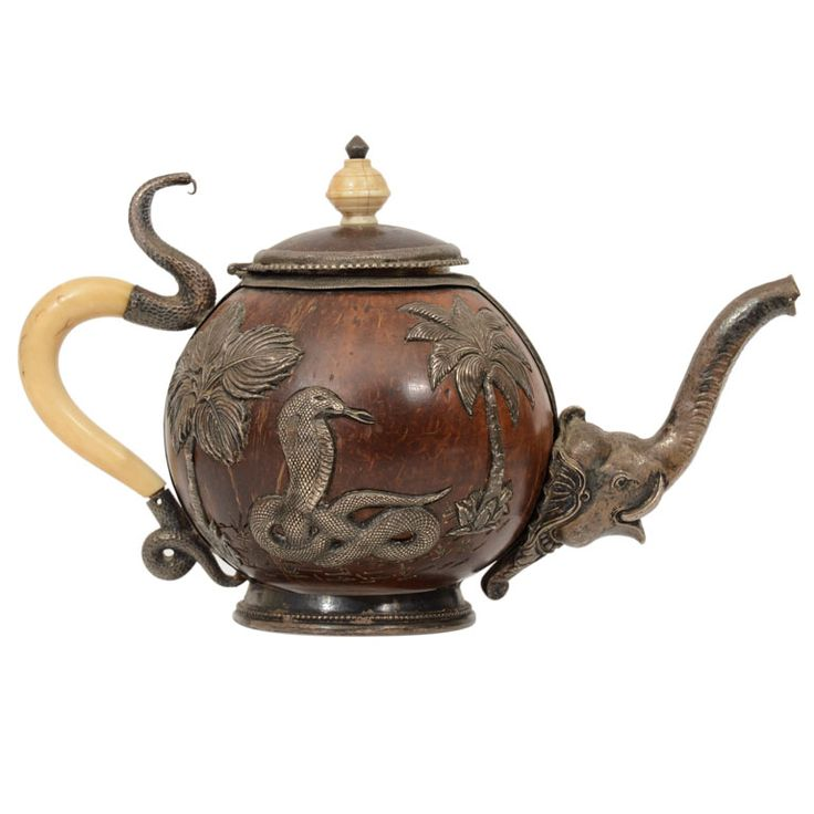Anglo Indian Teapot