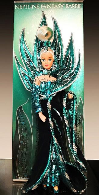 Neptune Fantasy Barbie by Bob Mackie by possiblezen, via Flickr