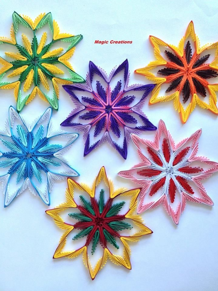 200 best images about quilling christmas ideas on for Decoration quilling