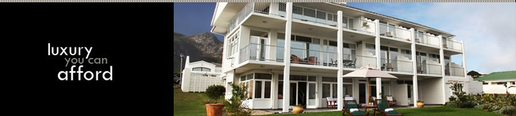 Hermanus Beach Villa offers Hermanus accommodation at its best! Stunning sea views! This seafront accommodation allows guests to enjoy and view the Southern Right Whales blow and breach, either from the comfort of your bed or your private sea facing balcony.