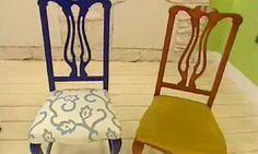 Renovar y tapizar sillas de madera-Tutorial