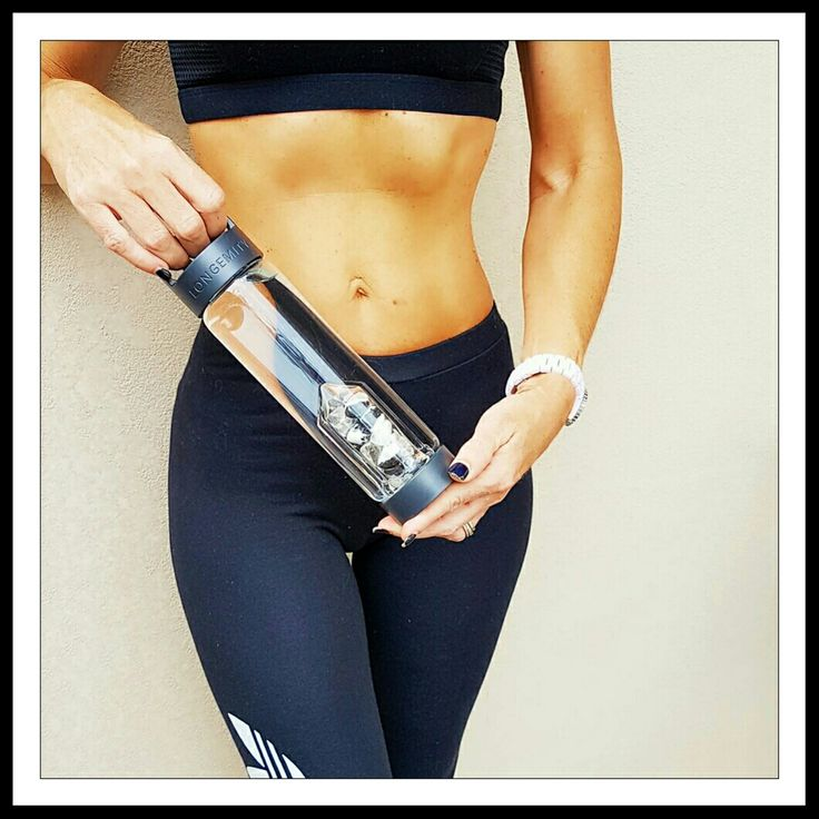 Longemity Crystal Water Bottles. Gem water hydration on the go. Convenient, easy and holistic