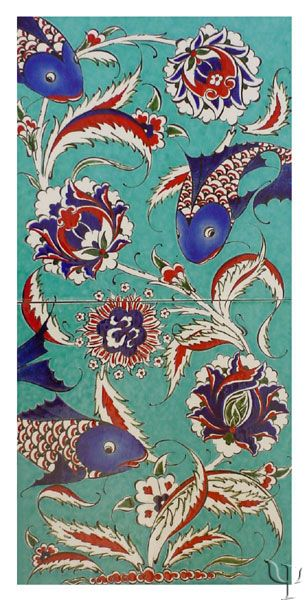 Iznik Tile Panel yurdan.com