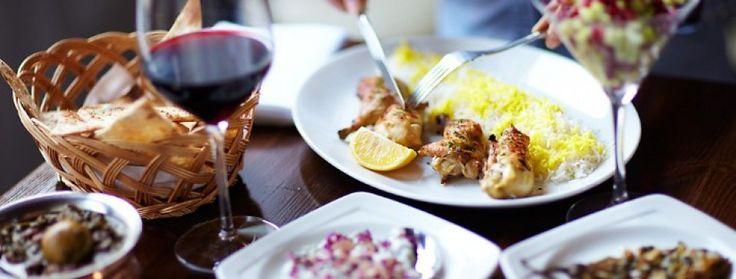 Persian restaurant in Warwick Place, London