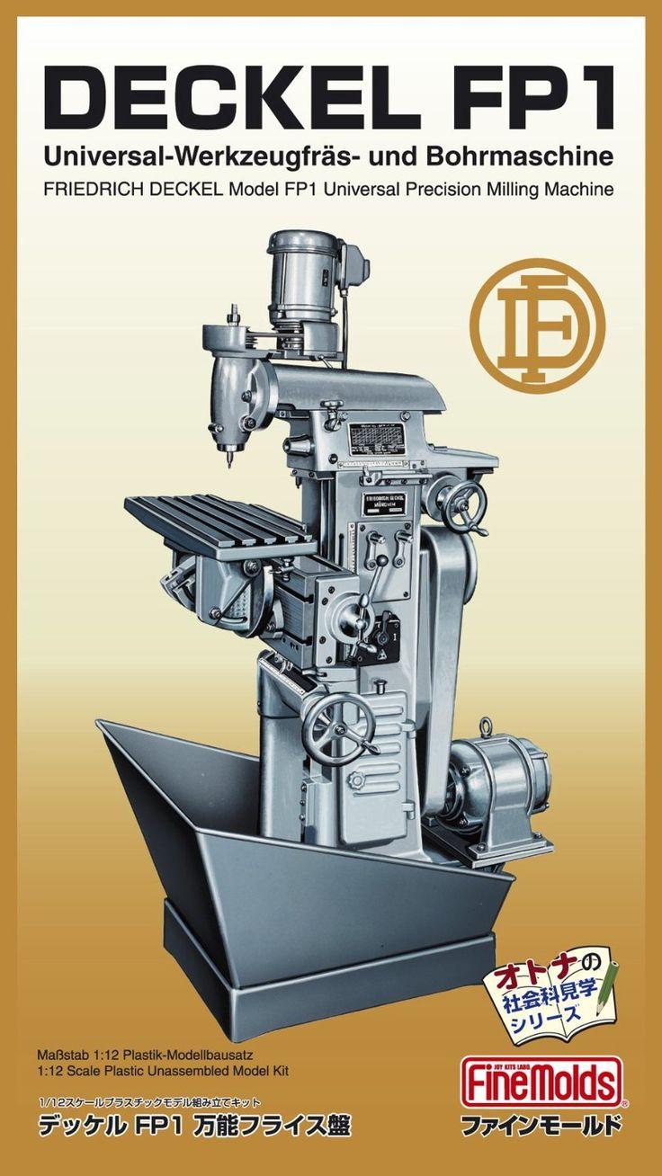 Amazon.com: Deckel FP1 Milling machine (Plastic model ...