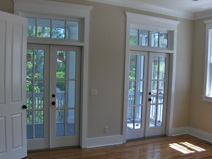 For Doors Like These Flanking Fireplace In Family Room