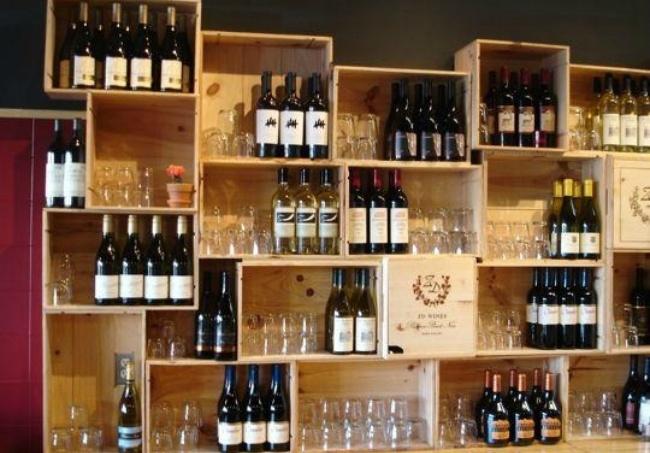 Usos decorativos para las cajas de vino