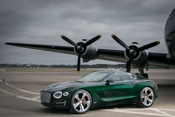 Fahrbericht Bentley EXP 10 Speed 6 - Bilder - autobild.de