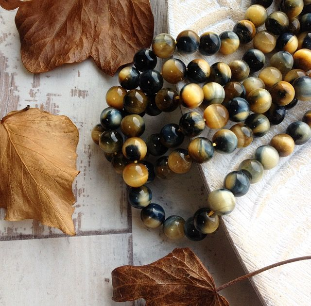 Have you seen our new A Grade Blue Tiger Eye strands?  We are in love with these this season!  www.beadhouse.co.uk