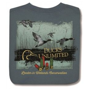 Ducks Unlimited  Ducks and Shells - Back