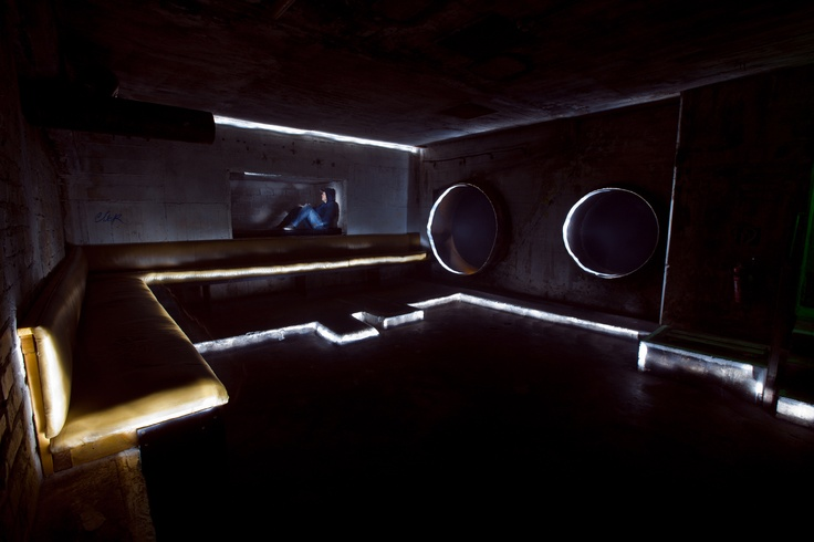 Lounge space@Tresor Club, Berlin  SOOC: Chris Noelle and Mikhail Churkin, No photoshop ©Mikhail Churkin