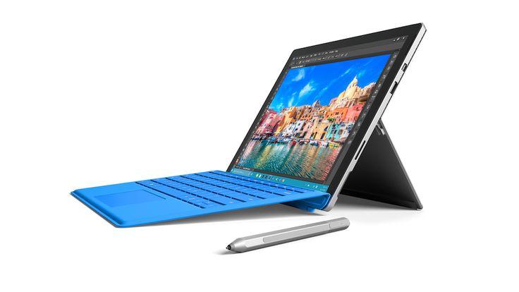 Surface Pro 4, la tablette hybride de Microsoft s'améliore encore - http://www.leshommesmodernes.com/microsoft-surface-pro-4/