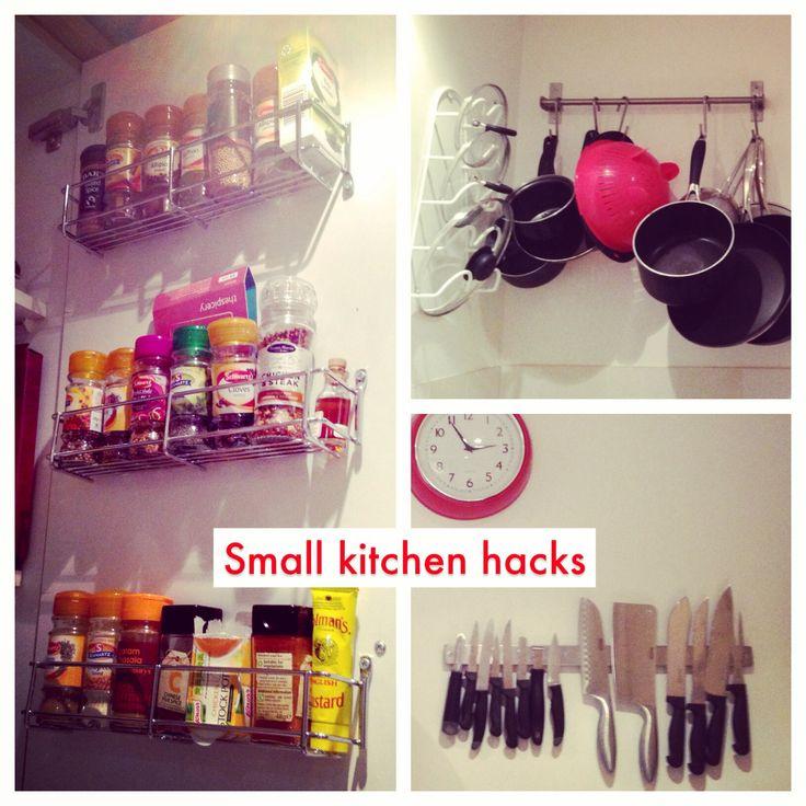 Tiny Kitchen Hacks: Small Kitchen Hacks