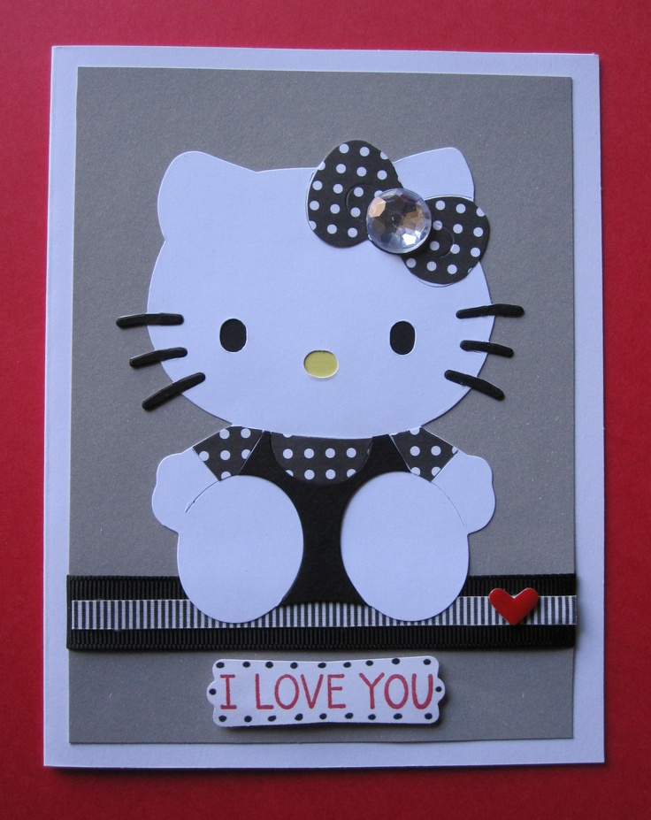 1000+ images about Hello Kitty Cards on Pinterest | Birthdays ...