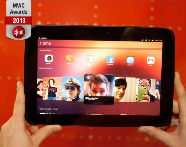 Ubuntu Touch beats Firefox OS to win best of MWC from CNET