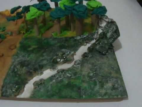 Ecosistema Terrestre Selva Maqueta