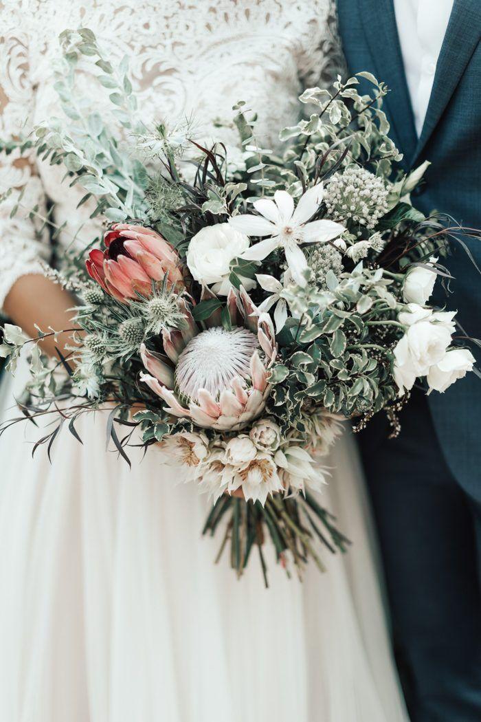 Earthy Crystal Inspired Boulder Wedding At Sunrise Amphitheater Junebug Weddings Flower Bouquet Wedding Wedding Flowers Floral Wedding Decorations