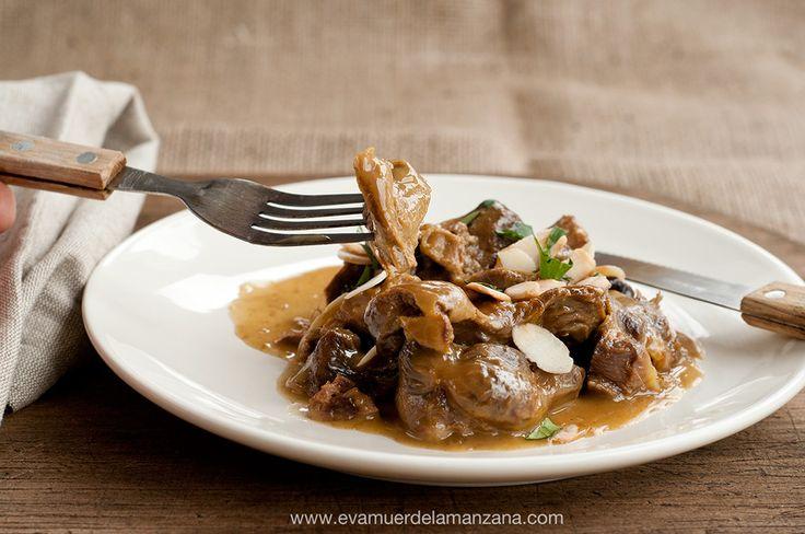 Receta de mollejas de pollo sin gluten