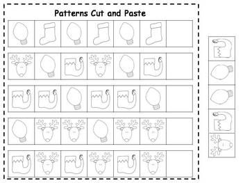 christmas patterns cut paste printables freebie seasonal christmas pinterest pattern. Black Bedroom Furniture Sets. Home Design Ideas