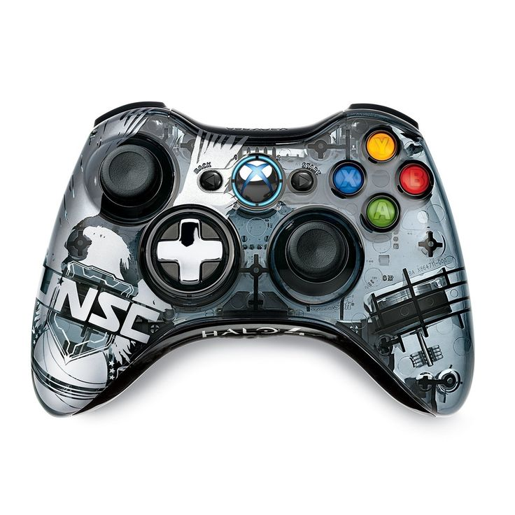 Xbox 360 Halo 4 Limited Edition Wireless Controller: Video Games