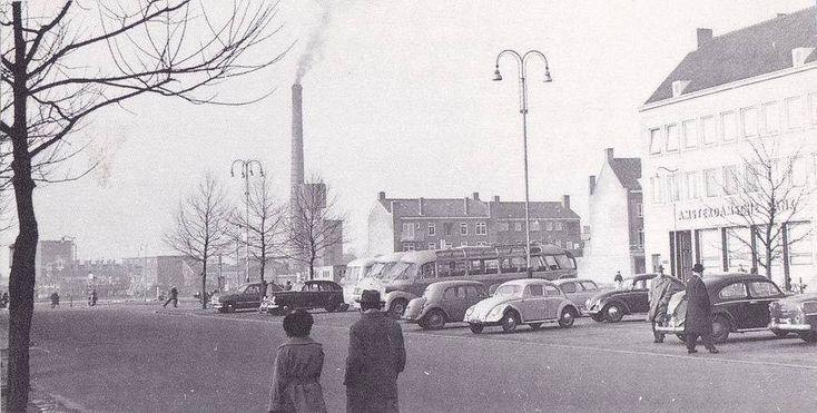 Stationsplein Hengelo (jaartal: 1950 tot 1960) - Foto's SERC