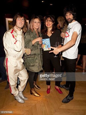 Lliana Bird and Dr Jack's book launch party 10/04/16