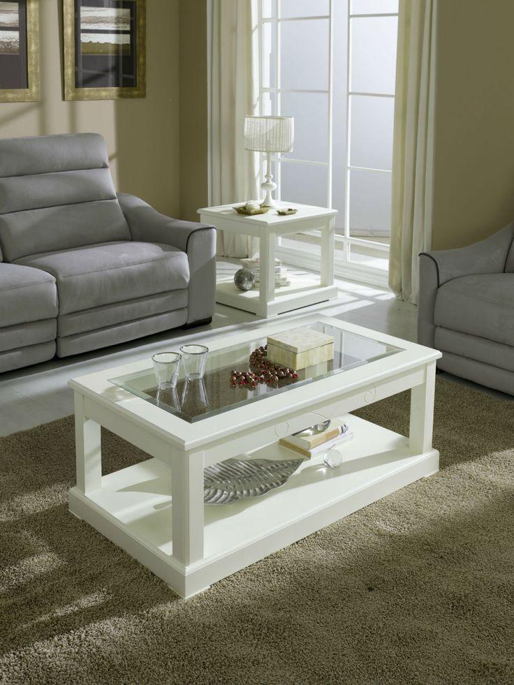Mesa de centro moderna de alta calidad. Gran variedad en colores madera y lacados