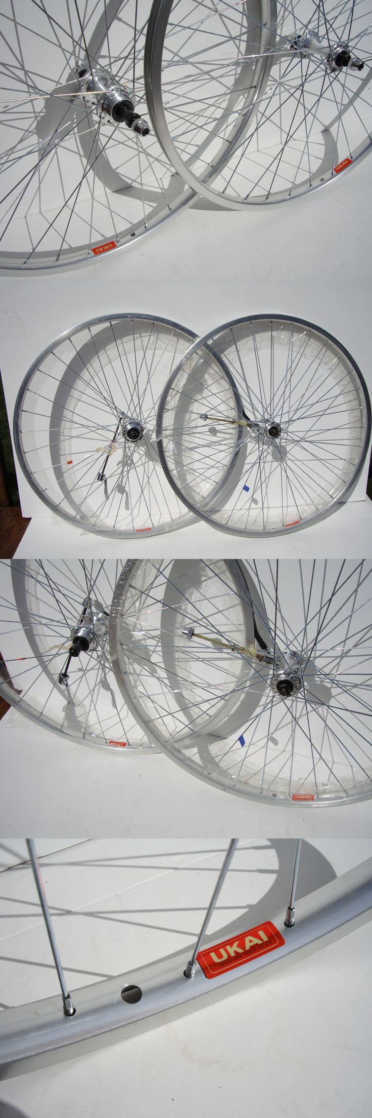Vintage Bicycle Parts 56197: Nos Ukai 26 Wheels Schwinn Trek Mtb Bike Cruiser Bicycle Mountain 7 8 Speed Vtg -> BUY IT NOW ONLY: $175 on eBay!