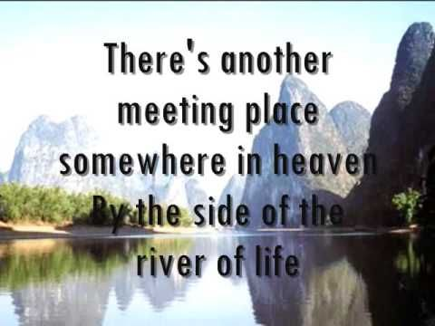 ELVIS PRESLEY - IF WE NEVER MEET AGAIN with LYRICS (rare gospel music by 'The Legend')