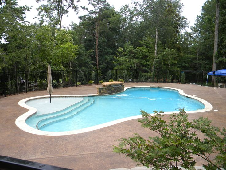 17 Best Images About Swimming Pools On Pinterest Stamped