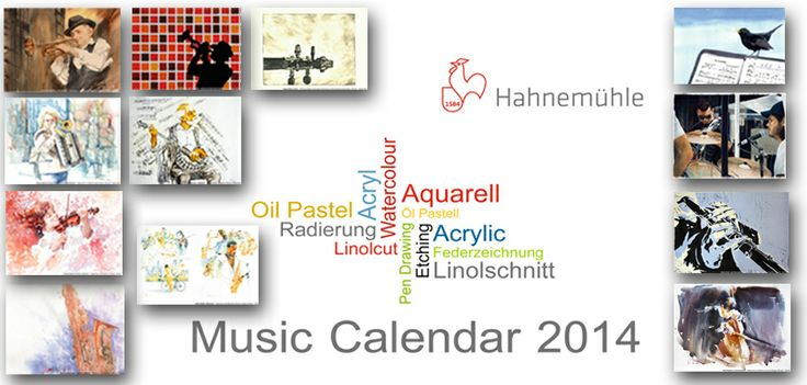 The 12 motifs for #Hahnemühle´s #Art #Calendar 2014 from this years #competition are online.Thanks to all participants! More on our website www.hahnemuehle.com