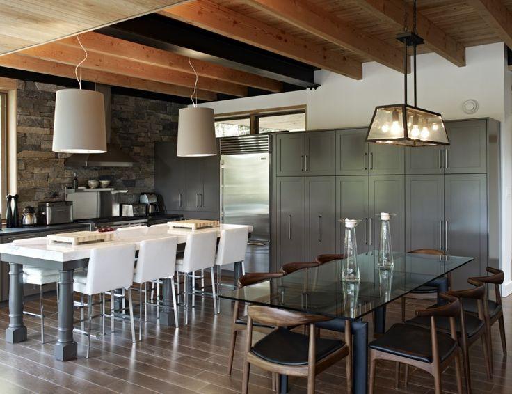 Altius Architecture Inc : Lake Joseph Cottage - kitchen | dining. www.altius.net