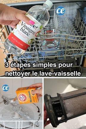 3 Etapes Simples Pour Nettoyer Votre Lave Vaisselle En