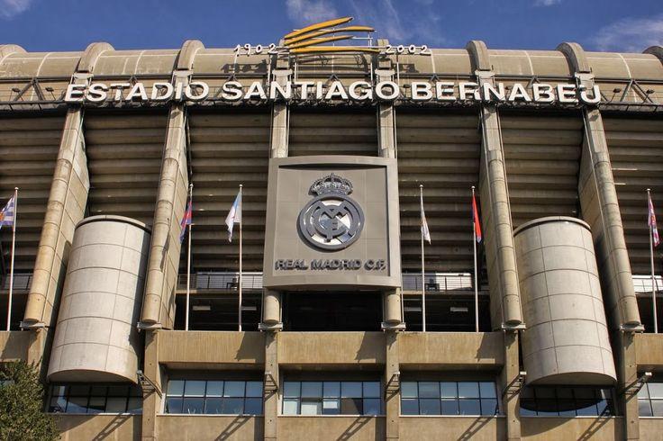 Estadio Santiago Bernabeu, casa del Real Madrid