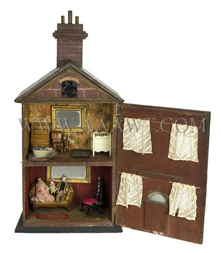 99 Best Images About Dolls` Houses On Pinterest