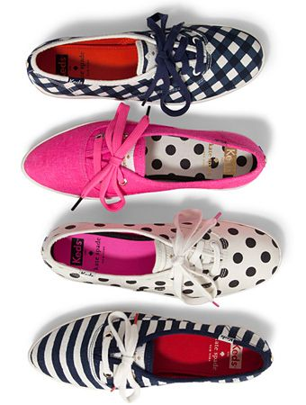 Here it is—your first look at the adorable sneakers the Kate Spade team guest-designed for Keds! Love my Keds and Kate Spade!
