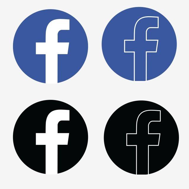 Logo Facebook Clipart Png Vector Element Logo Facebook Vector Illustration Design Clip Art