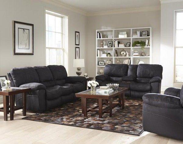 Catnapper - Terrance 3 Piece Power Reclining Living Room Set - 61581-61589-615802BLK