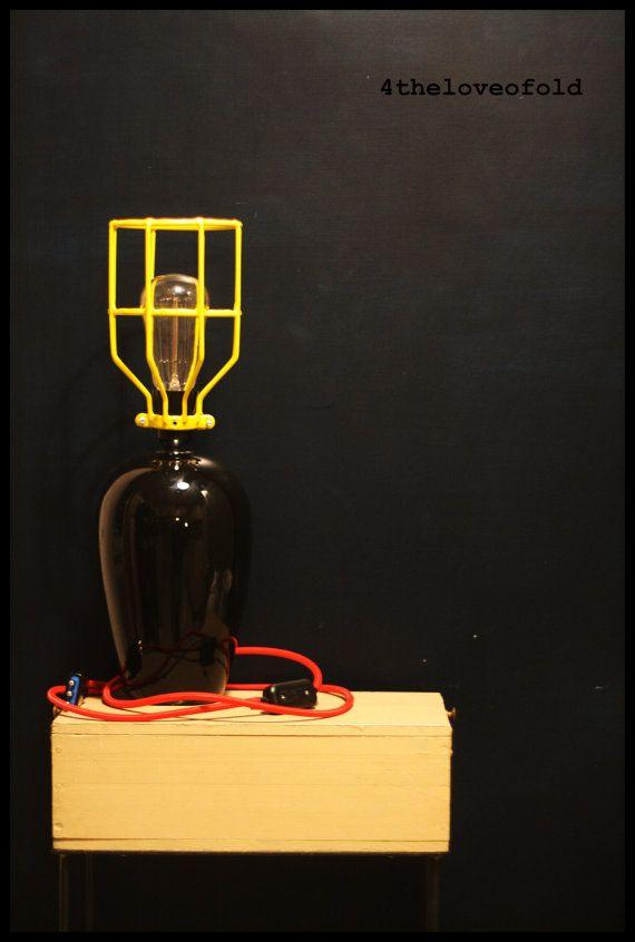 Lampada da Tavolo Industriale di fortheloveofold13 su Etsy, €120.00
