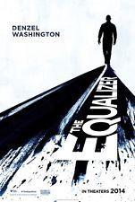 Equalizer - original DS movie poster - 27x40 D/S - Denzel Washington