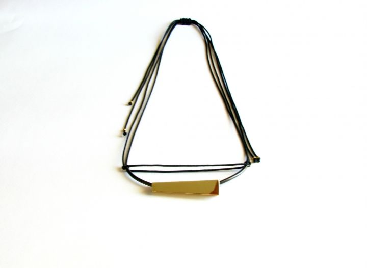 Cold Contemporary Necklace