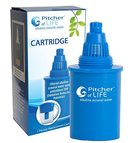 Pitcher of Life Alkaline Water Pitcher (2nd Generation) R...