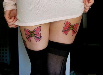 sailor moon bow tattoo  Sailor moon tattoos>>>